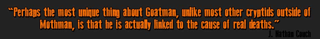 Goatman Flesh or Folklore