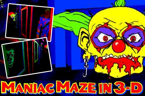 Maniac Maze at Industrial Nightmare