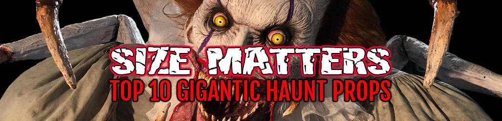 Giant Haunted House Props