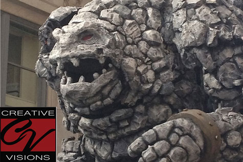 Giant Haunted House Props - Creative Visions