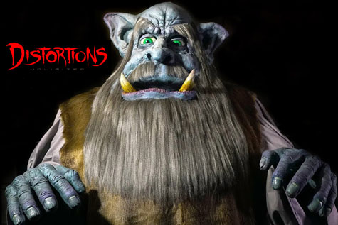 Giant Haunted House Props - Distortions