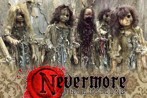 Giant Haunted House Props - Nevermore Productions