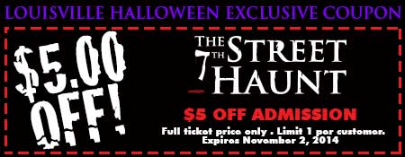 7th Street Haunt Coupon
