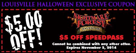 Nightmare Forest Hauntpark Coupon