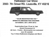 Halloween Car Show on Oct. 25th