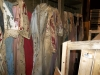 Bloody costumes awaiting the reopening of the factory in 2015.