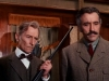 """Christopher Lee and Peter Cushing in """"Horror Express"""""""