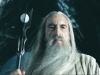 """Christopher Lee as Saruman the White in """"The Lord of the Rings"""""""