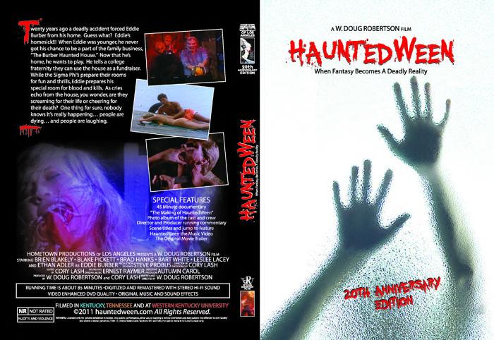 hauntedween 2oth anniversary dvd cover