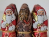 Tin foil wrapped chocolate devils and Saint Nicholas figures found in Central Europe.