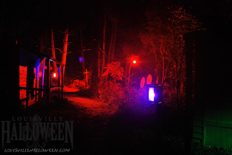 Backyard Haunted Forest Ideas : Nightmare Forest Crystal Lake