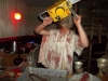 Leatherface sends guests out with a buzz!