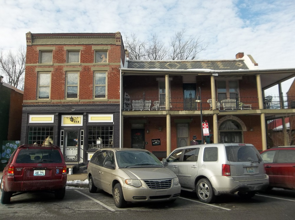 The Central Hotel On Main Street In La Grange Ky